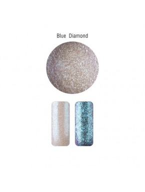 Nail Art - Mica Powder Blue Diamond
