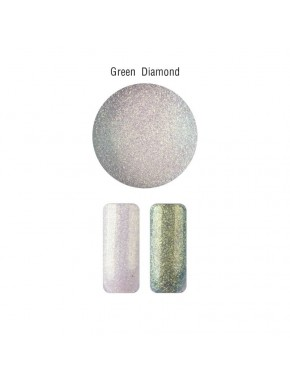 Nail Art - Mica Powder Green Diamond