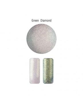 Nail Art - Mica Powder  Green Diamond