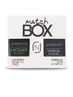 Match Box Overlac / Lacquer - Lac34 - Overlac BW01