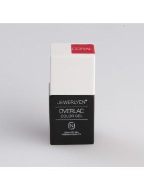 OVERLAC Gél Lakk - CORAL - 15 ml