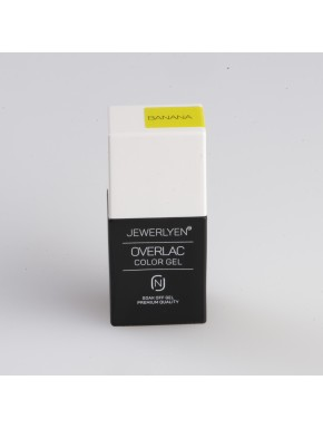 OVERLAC Gél Lakk - Banana - 15 ml