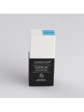 OVERLAC Gél Lakk - Jeans - 15 ml