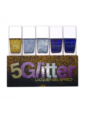 5 Glitter Lacquer KIT